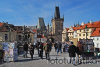 Charles Bridge and Lesser Town Bridge Towers