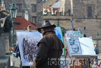 Charles Bridge - Street Artists